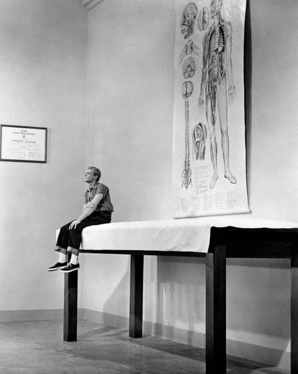 'Grant Williams in The Incredible Shrinking Man' (Silver Gelatin Print)