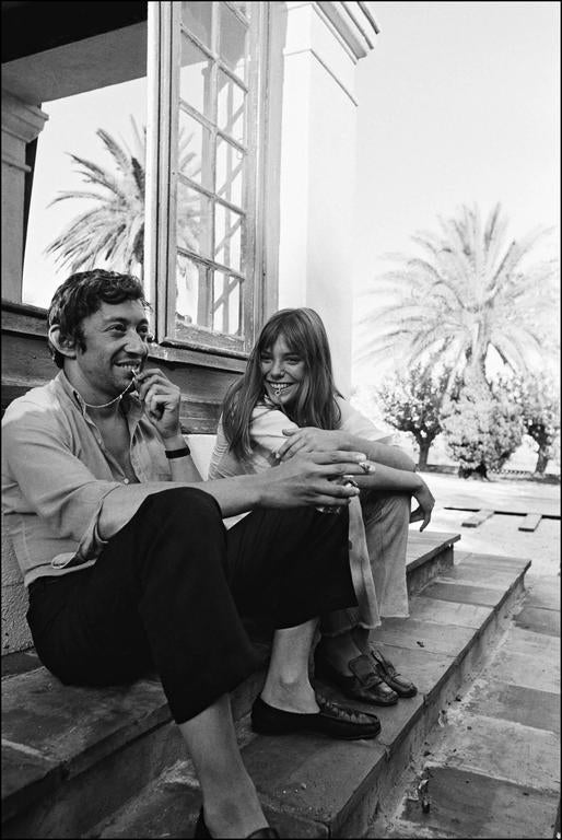 jean pierre bonnotte 39 gainsbourg et birkin 39 la piscine photograph for sale at 1stdibs. Black Bedroom Furniture Sets. Home Design Ideas