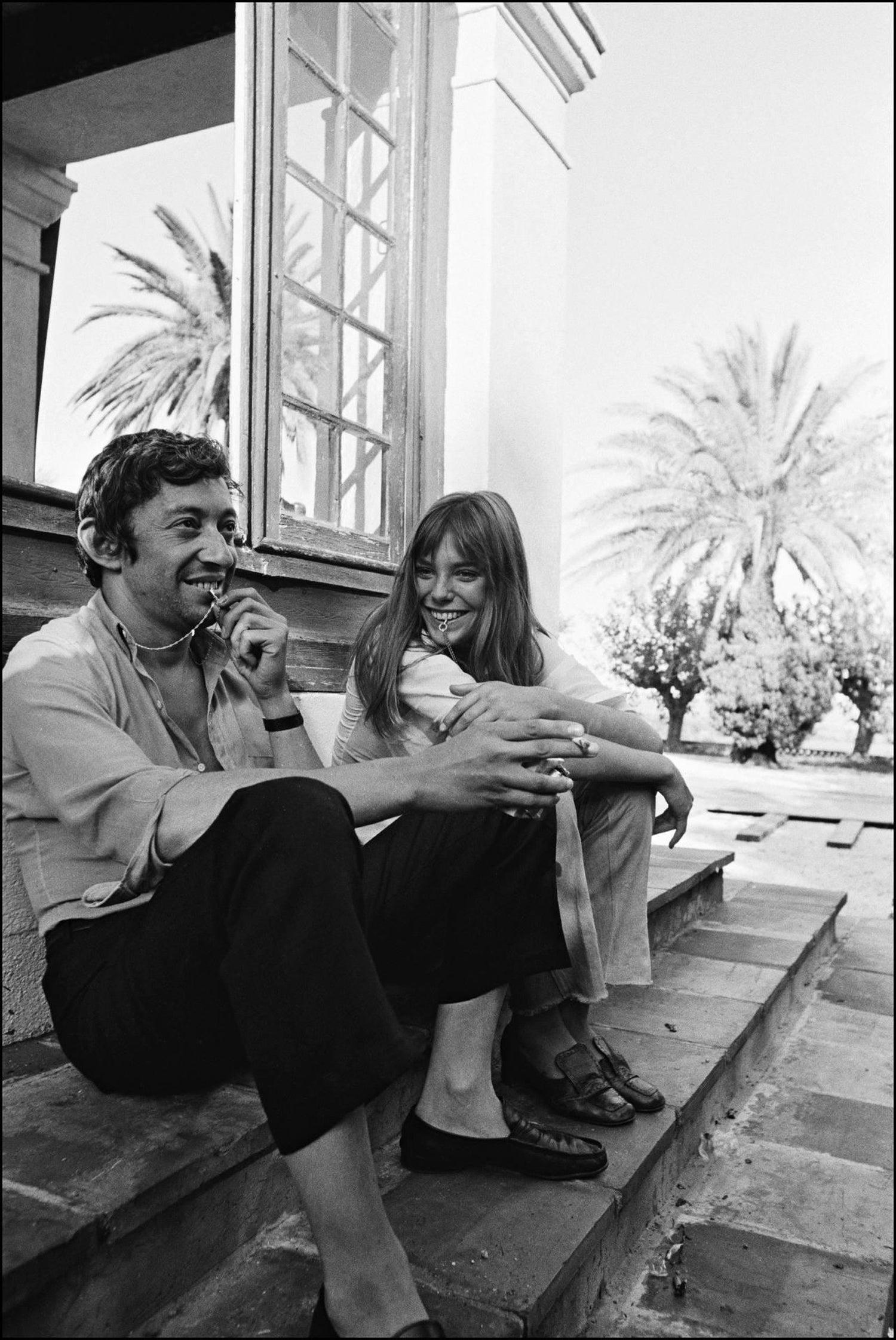 Jean-Pierre Bonnotte - 'Gainsbourg et Birkin' La Piscine at 1stdibs