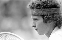 'John McEnroe' 1981 Silver Gelatin Print
