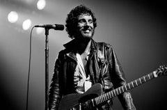 'Bruce Springsteen' The Boss, Silver Gelatin Print