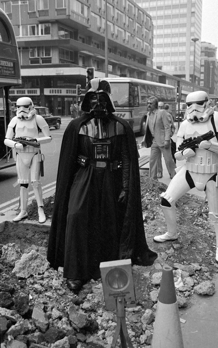 'Darth Vader' Limited Edition silver gelatine darkroom print