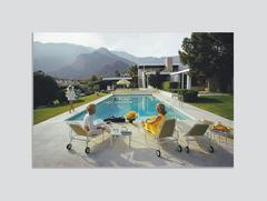 'Poolside Gossip' Palm Springs (Chromaluxe Aluminium Print)