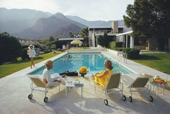 'Poolside Gossip' (Slim Aarons SUPERSIZE C type Print)