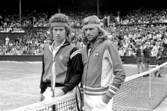 'Tennis Legends' 1980 Silver Gelatin Print