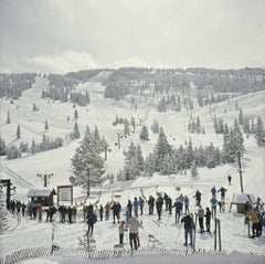 'Skiing In Vail'  *newly added* SLIM AARONS ESTATE Print