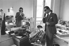 'Karl Lagerfeld' ( Silver Gelatin Print)