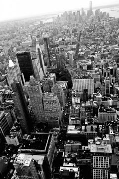 'New York Skyline' signed Oversize print