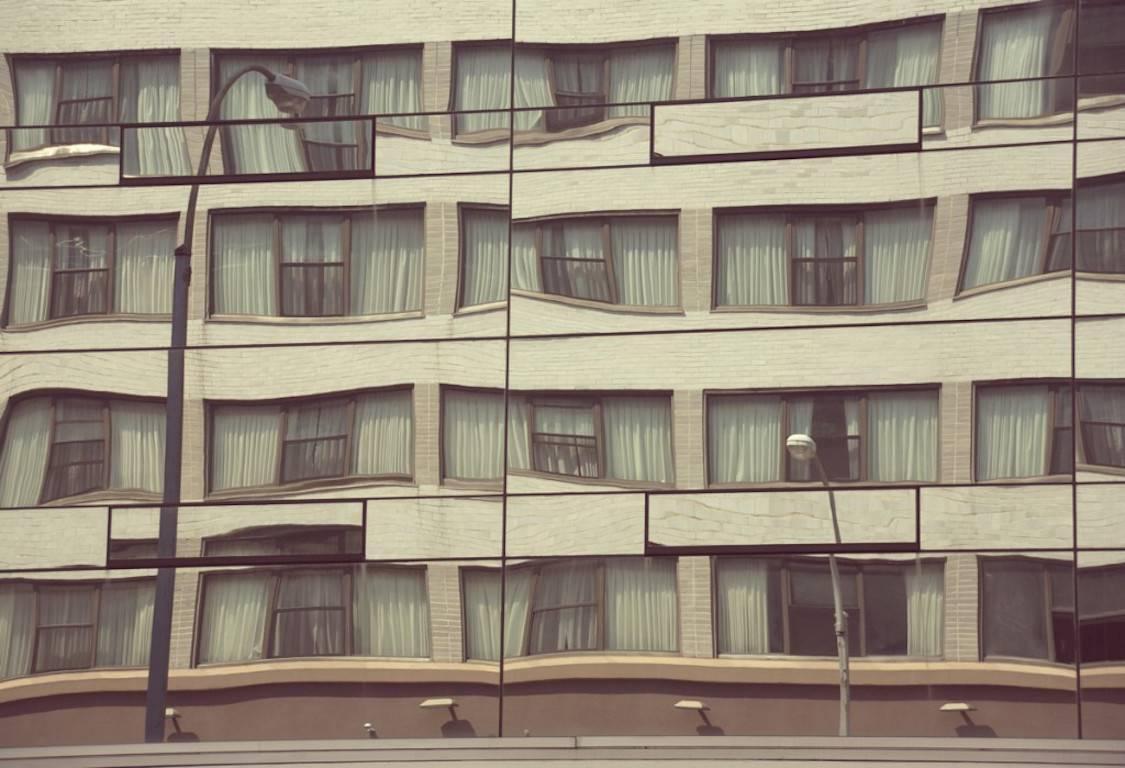 'Marshmallow Building' Archival Pigment Print