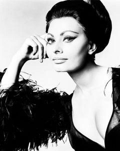 'Sophia Loren'  Limited Edition Silver Gelatin Print