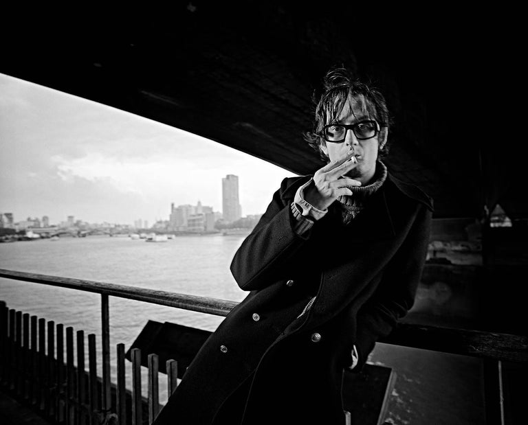 Jamie Beeden Black and White Photograph - 'Jarvis Cocker Of Pulp In London' (Oversize Limited Edition)