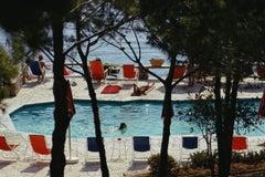 Hotel Il Pellicano - Porto Ercole - Slim Aarons 20th century color photography
