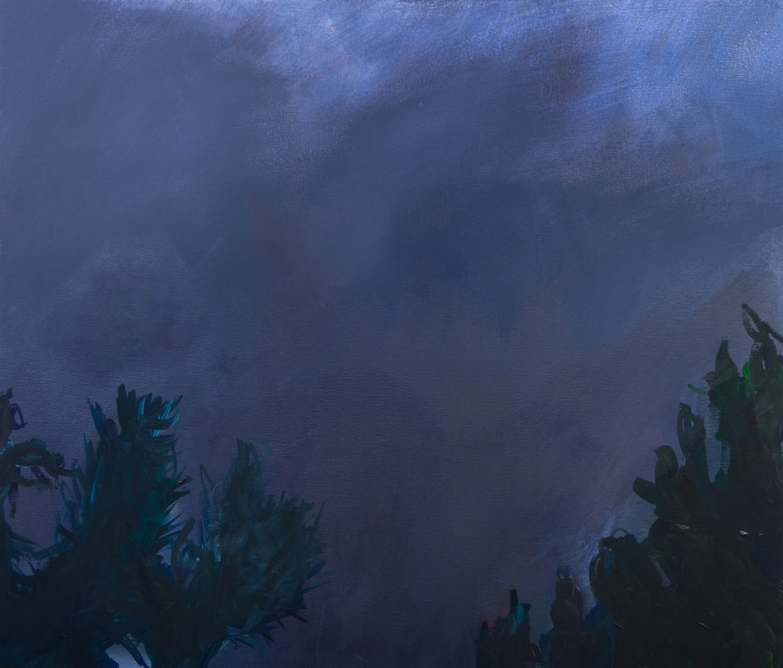 ' La Nuit '  oil on canvas
