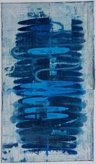 Study III Totem / Prussian Blue