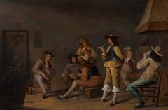 Jan Olis - Soldiers playing cards in a guardroom