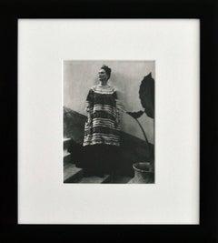 Frida Kahlo - Casa Azul Coyoacan, Mexico Vintage, Framed