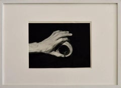 Hand on the Camera, Mexico - Framed B&W Photography