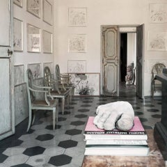 Untitled #28 Cy Twombly in Rome- Color Photograph