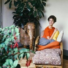 Marella Agnelli, 1967, Small Archival Pigment Print