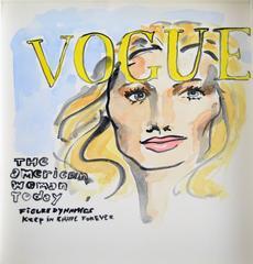 Manuel Santelices - The Vogue Paris cover