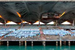 Marine Stadium Extra Large Landmark Photograph, 2015