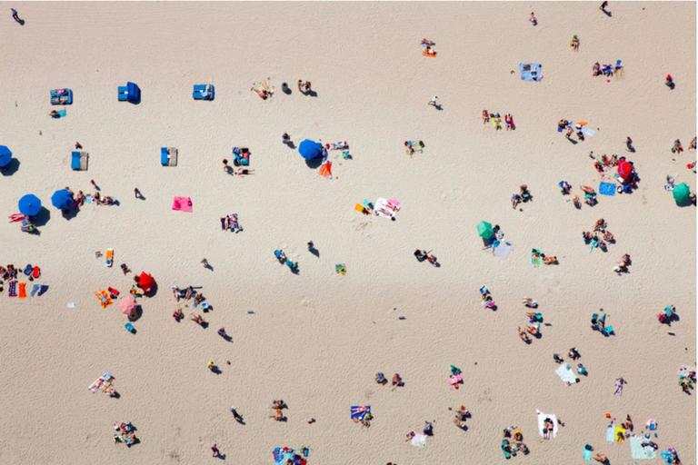 Beach 2 (Aerial Photography)