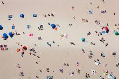 Beach 2 , Large Aerial Photograph, 2015