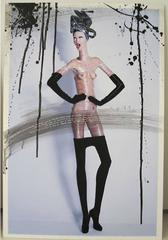 """Nude Girl's waist with plastic and tights  """"one of a kind"""""""