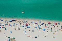 Nude Beach (Aerial Photography)