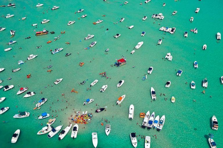 Sandbar (Aerial Photography)