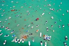 Sandbar, Medium Aerial Photograph, 2015