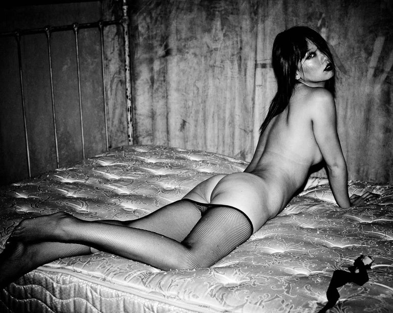 "David Jay Nude Photograph - ""Shanghai #4""- Limited Edition Large Nude Portrait B&W Photograph"