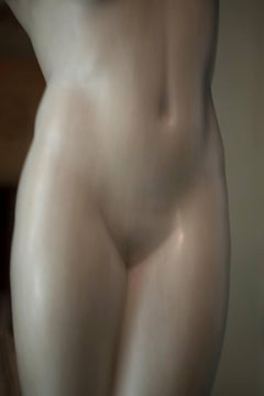 Roman Statue Study 7, Small Abstract Figurative Color Photograph, 2014