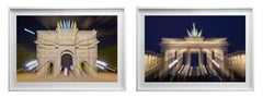 Architectural Diptych Color Photograph on semi-luster photo paper