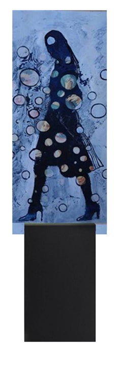 Eternal Recurrence #42 Limited edition print on deiNERI Acrylic glass stand