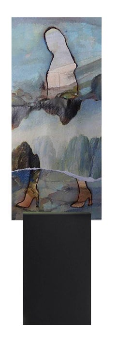 Eternal Recurrence #3 Limited edition print on deiNERI Acrylic glass stand
