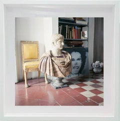 Untitled #29 Cy Twombly in Rome Portrait Color Photograph