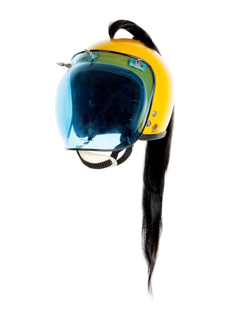 3.7  From La Filosofia en el Tocador, Vintage Helmet