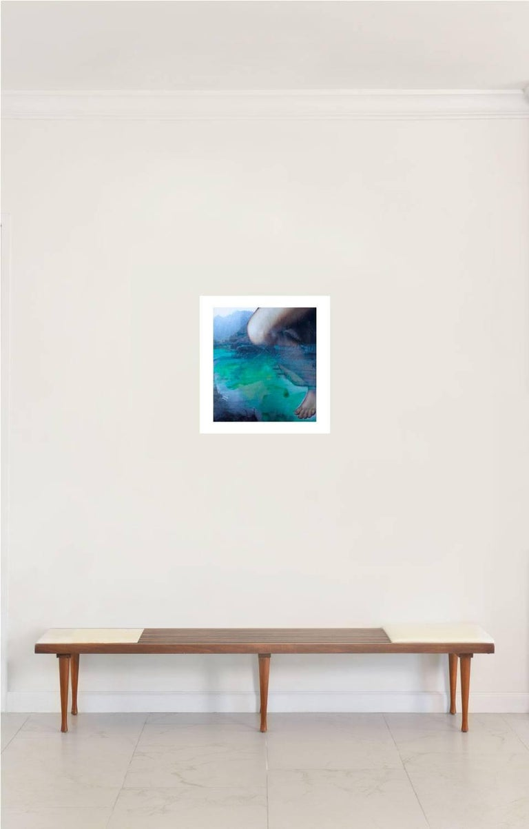 Eternal Recurrence #40 by Natasha Zupan Photo collage with intervention by the artist Image size: 17 in. H x 15.5 in. W Frame size: 27 in. H x 25.4 in. W 2015 Framed  All Prices are quoted as