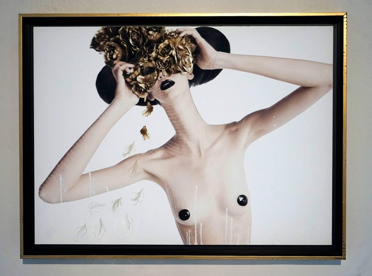 """""""Teresa with Mask of Roses"""", 2009"""