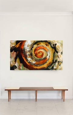 Whirlwind- Large Color Photograph mounted on plexiglass