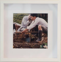 The Diggers- Color Photograph -Framed