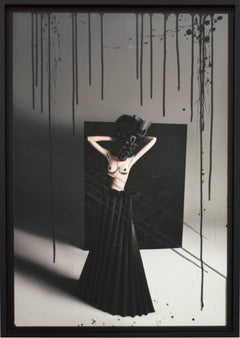 """Teresa with Black Origami Skirt"", 2010"
