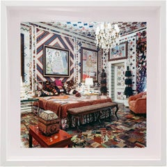 Gloria Vanderbilt's New York City Bedroom, Small Framed Color Photograph
