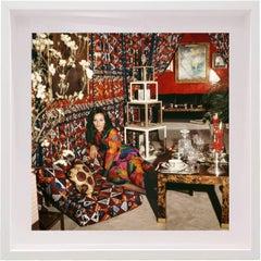Diane von Furstenberg at home