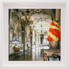 Villa Agnelli in Villar Perosa, Italy, Small Framed Color Photograph