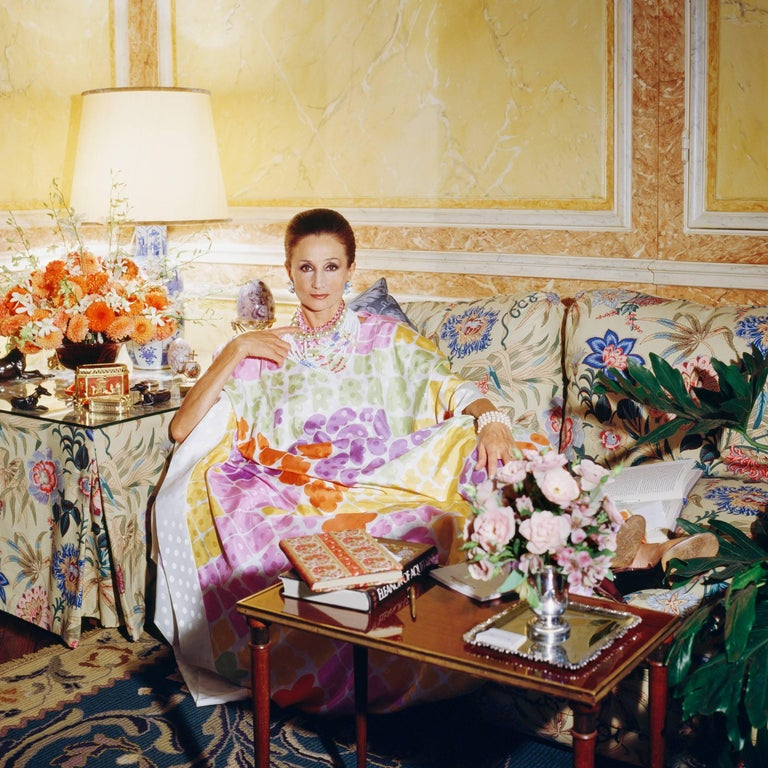 Horst P. Horst Color Photograph - Around That Time - Jacqueline de Ribes, 1984, Small Archival Print