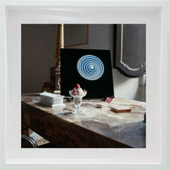 Untitled #8 Cy Twombly in Rome, Small Framed Color Photograph