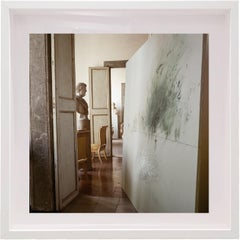Untitled #13 Cy Twombly in Rome, Small Framed Color Photograph