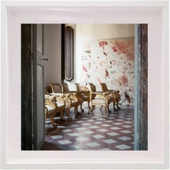 Untitled #19 Cy Twombly in Rome- Color Photograph